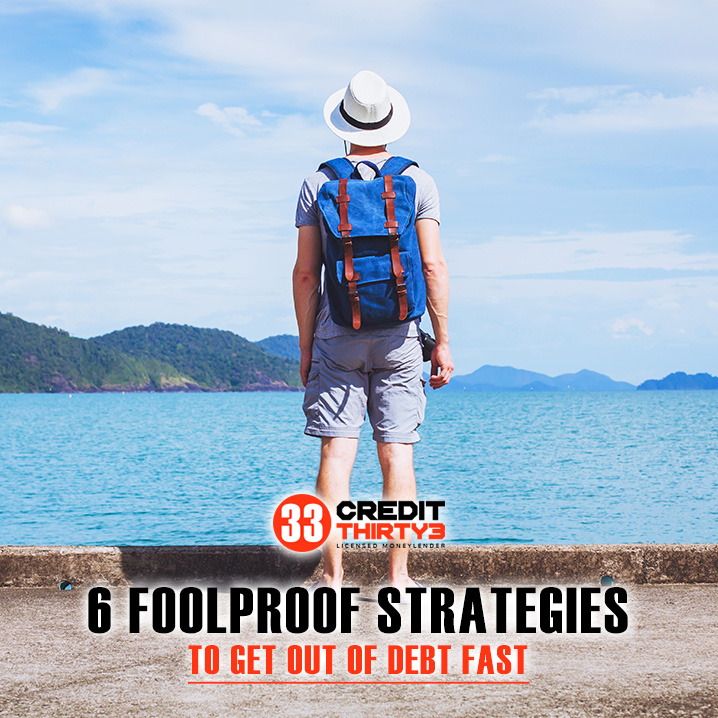 6 Foolproof Strategies to Get Out of Debt Fast
